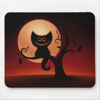 Gatito de Halloween Tapetes De Raton