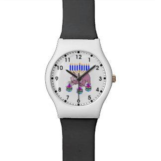 Gatito de Jánuca Relojes