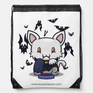 Gatito de Kawaii (Drácula) Mochilas