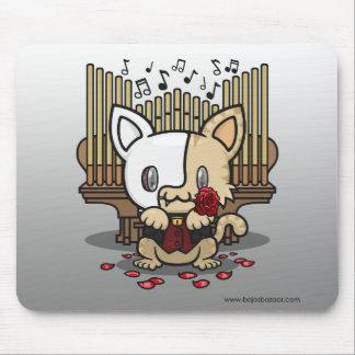 Gatito de Kawaii (fantasma de la ópera) Tapetes De Ratones