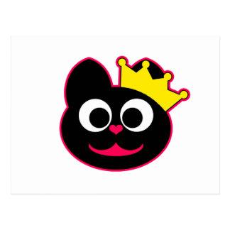 Gatito de la reina postal