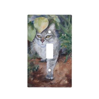 Gatito de la selva placas para interruptor