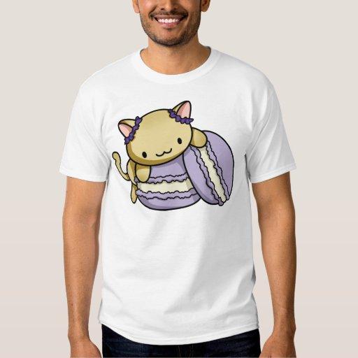 Gatito de Macaron Polera