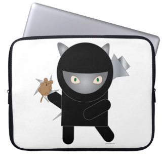 Gatito de Ninja Funda Ordendadores