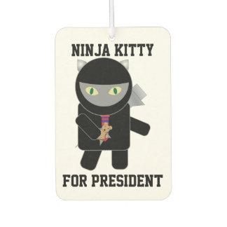 Gatito de Ninja para el presidente