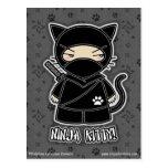 ¡Gatito de Ninja! Postal