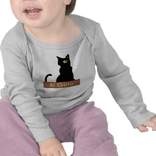 Gatito de Spanglish (Gato) Camisetas