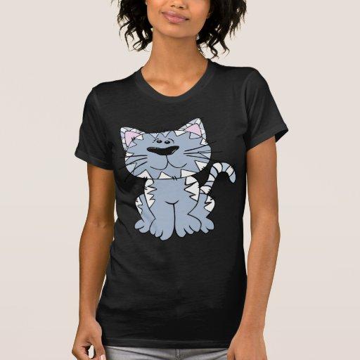 Gatito de Stripey Camisetas