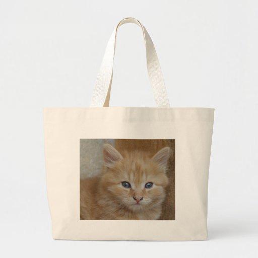 Gatito de Tomcat del Tabby Bolsas