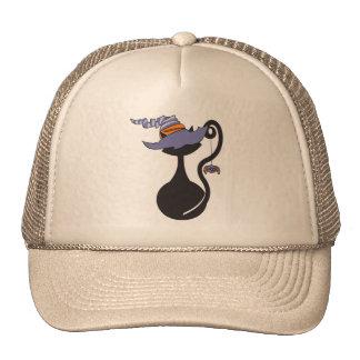 Gatito de Witchy en gorra púrpura