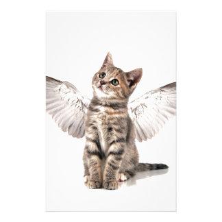 gatito del ángel papelería de diseño