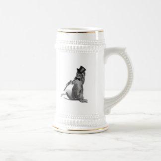 Gatito del baile de golpecito taza de café