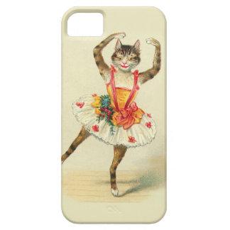 Gatito del baile funda para iPhone 5 barely there