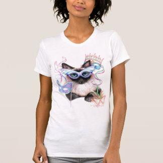 Gatito del carnaval camiseta