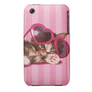 Gatito del Coon de Maine iPhone 3 Case-Mate Protectores