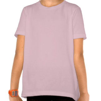 Gatito del dibujo animado con la bola del hilado camiseta