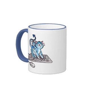Gatito del dragón taza