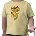 Gatito del leopardo camisetas