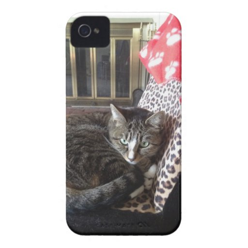 Gatito del monstruo iPhone 4 Case-Mate protector