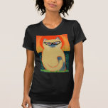 Gatito del ojo de gato camiseta