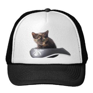 Gatito del pirata informático gorra