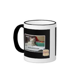 Gatito del profesor particular tazas