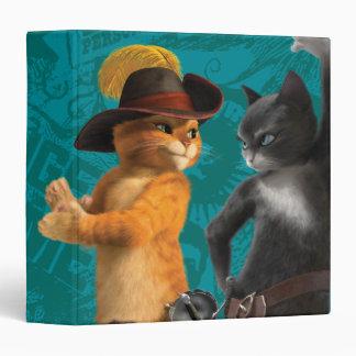 "Gatito del Puss del CG Carpeta 1 1/2"""