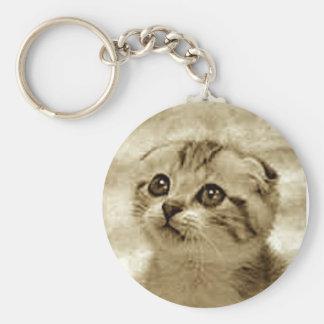 gatito del quiero del te llavero personalizado