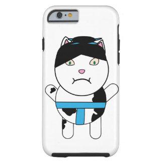 Gatito del sumo funda para iPhone 6 tough