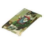 Gatito del vintage castigado en la escuela iPad mini coberturas