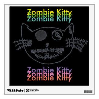 Gatito del zombi vinilo