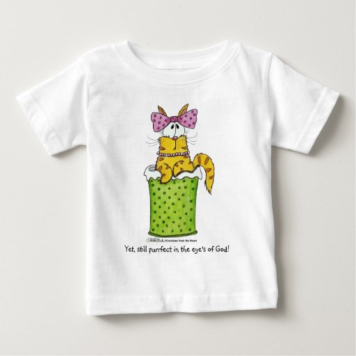 Gatito delicado de la basura t-shirts