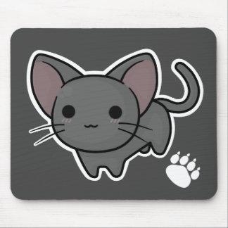 Gatito derecho Mousepad