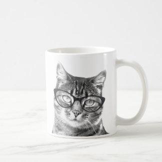 Gatito divertido de la taza el | del gato que llev