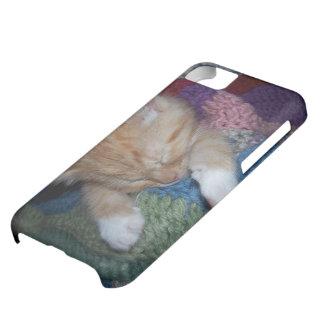 Gatito el dormir funda para iPhone 5C