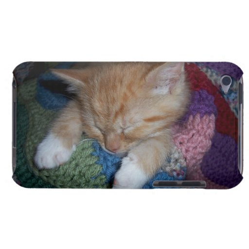 Gatito el dormir iPod touch Case-Mate carcasa