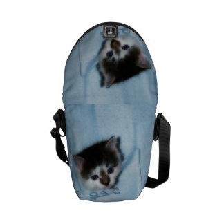 Gatito en el bolsillo bolsas de mensajería
