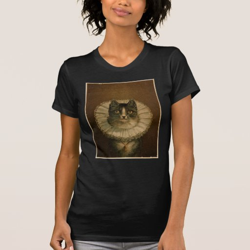 Gatito en un acerino isabelino camisetas