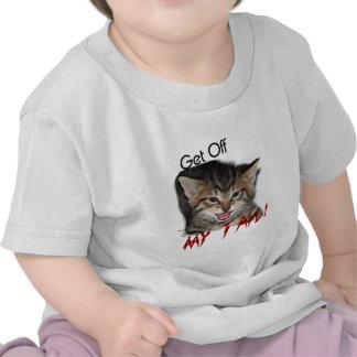 Gatito enojado:  Consiga de MI COLA Camiseta