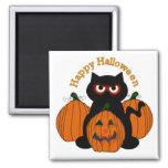 Gatito fantasmagórico de Halloween Imán Para Frigorifico