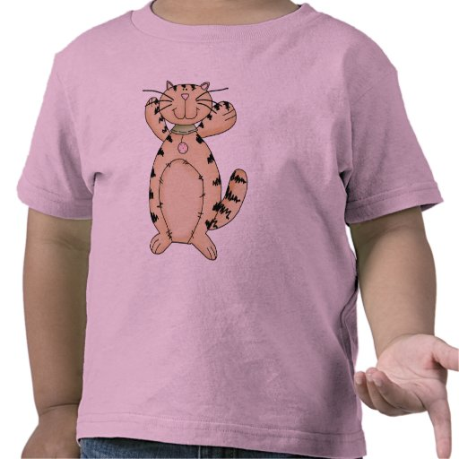 Gatito feliz camiseta