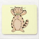 Gatito feliz tapetes de raton
