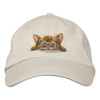 Gatito fresco gorra de béisbol