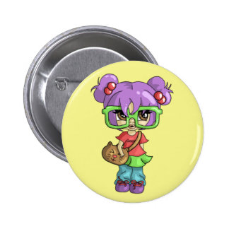 Gatito Geeky Pin