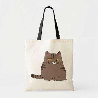 Gatito gruñón bolsas