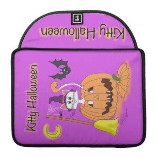 Gatito Halloween Fundas Macbook Pro