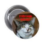 Gatito ido psico pins