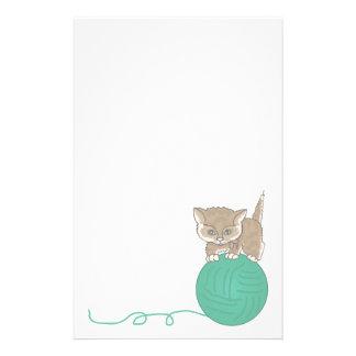 Gatito inmóvil animal de los amantes del mascota i papelería