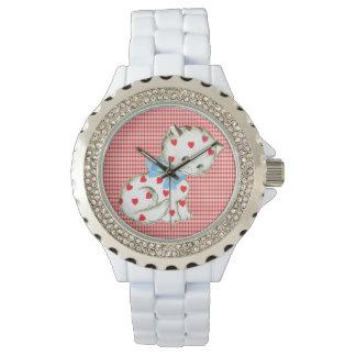 Gatito Kitschy Reloj