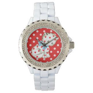 Gatito Kitschy Reloj De Mano